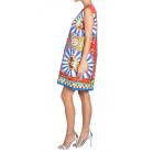 Dolce & Gabbana Jacquard Printed Dress