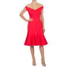 La Petite Robe di Chiara Boni Off The Shoulder Dress
