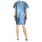 Rochas Flower Print Shift Dress