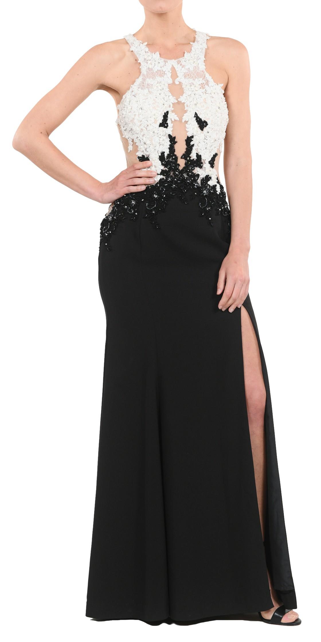 Custom Cutout Lace Gown Evening Dress Rental Lebanon Rent A