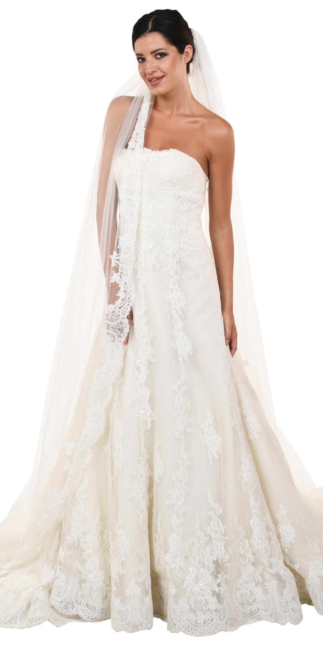 Elie Saab Aline Lace Gown Bridal Dress Rental Lebanon Rent A 5404 ...