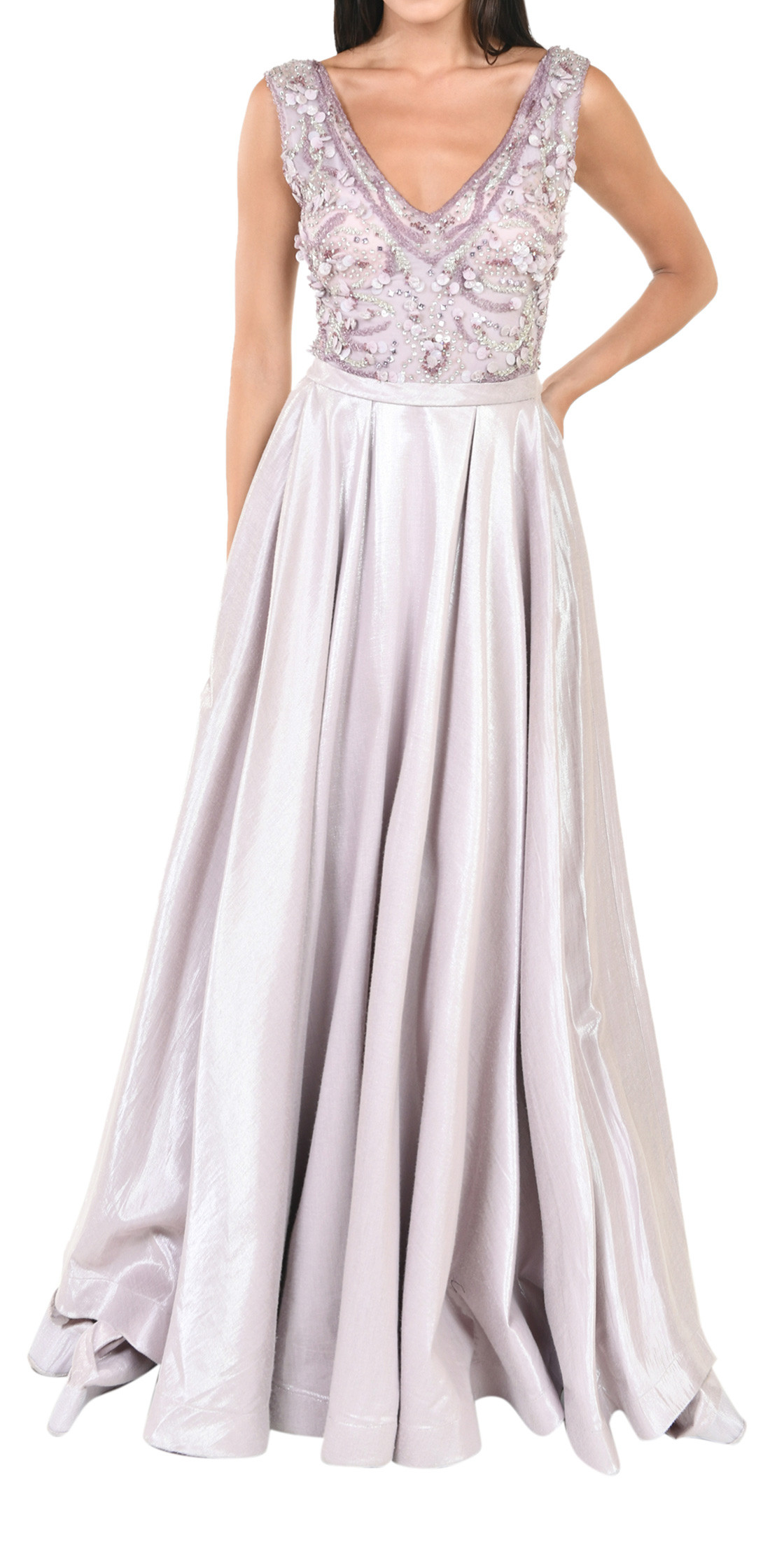 651a17bf1f0 Tony Ward V-Neck A-Line Gown | Evening Dress Rental | Lebanon Rent a ...
