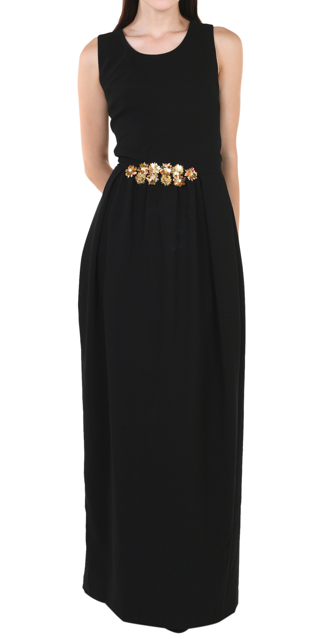 Tory Burch Round-Neck Gown | Evening Dress Rental | Lebanon Rent a ...