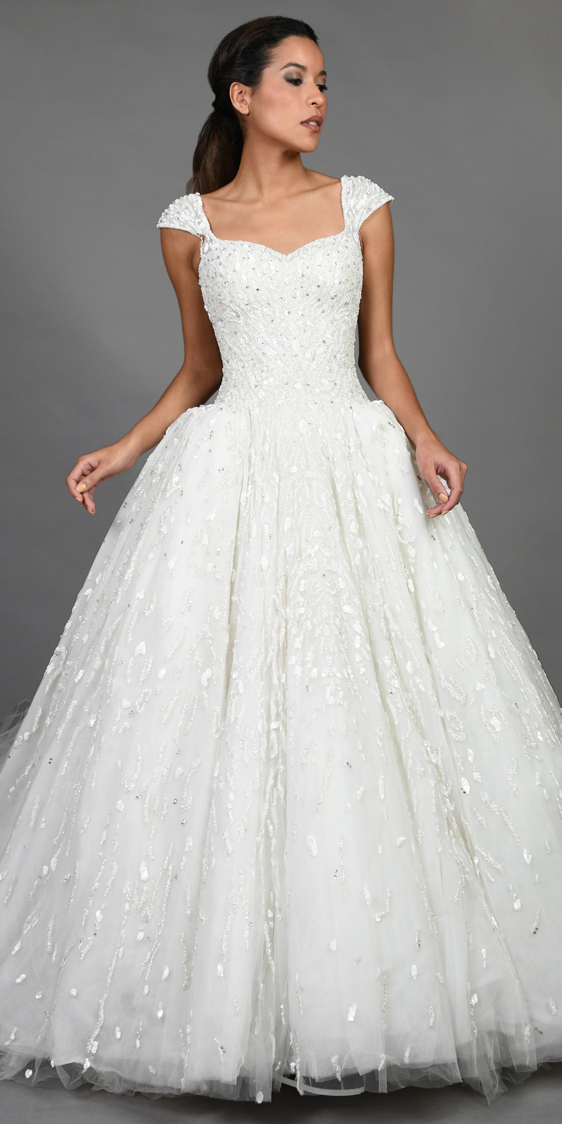 Zuhair Murad Off The Shoulder Bridal Ball Gown   Wedding Dress ...