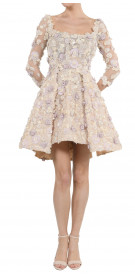 Aden 3D Floral Dress