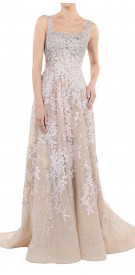 Aden Beaded Sleeveless Gown
