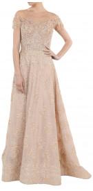 Aden Embellished A-Line Gown
