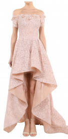 Aden High-low Lace Gown