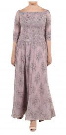 Aden Off The Shoulder Embellished Gown
