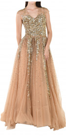 Aden Sequin Ball Gown