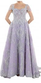 Ali Al Khechen Embellished A-Line Gown