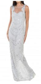 Basix Black Label Sequin Column Dress