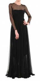 The Dress Concept Dotted Tulle Gown