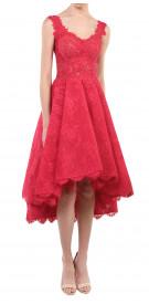 Fadwa Baalbaki Fit & Flare Lace Dress