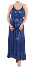 Elie Saab Sleeveless Sequined Gown