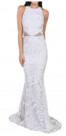 Fidan Simsek Sequin Mermaid Gown