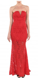 Fouad Sarkis Mermaid Lace Gown