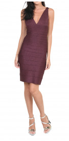 Herve Leger Sleeveless Bandage Mini