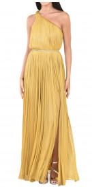 Maria Lucia Hohan Asymmetric Pleated Gown