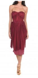 Maria Lucia Hohan Strapless Cutout Dress