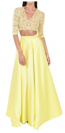 Mirna Jawhari Couture Long-Sleeved Two-Piece