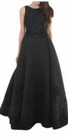 Moe Shour Classic A-Line Gown