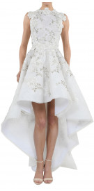 Rony El Areif Beaded High-Low Gown
