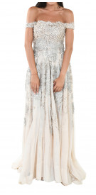 Rony el Areif Off The Shoulder Gown
