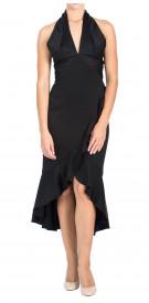 Shoshanna Halter Ruffled Dress