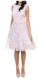 The Dress Concept Floral Flare Dress