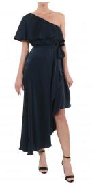 Zimmermann Ruffled Asymmetric Dress